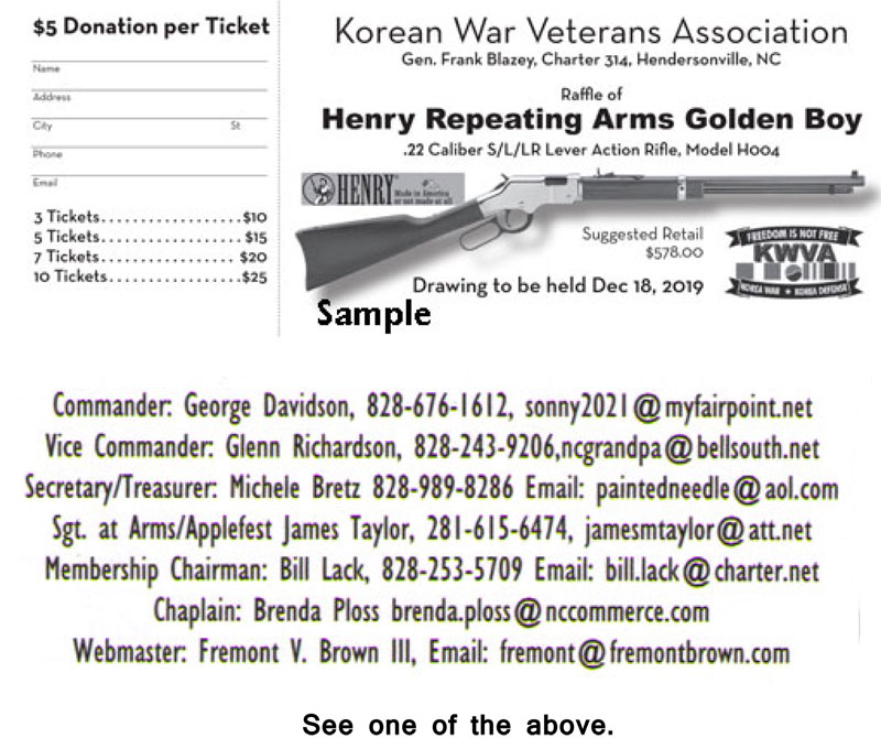 KWVA Henry Repenting Arms Golden Boy  22 Lever Action Rifle